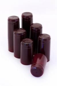 Bilde av Krympehatter til vinflaske, rød